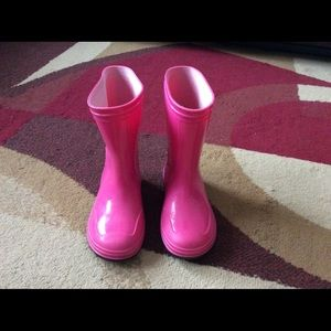 Other - Girl Toddler rain boots size 8